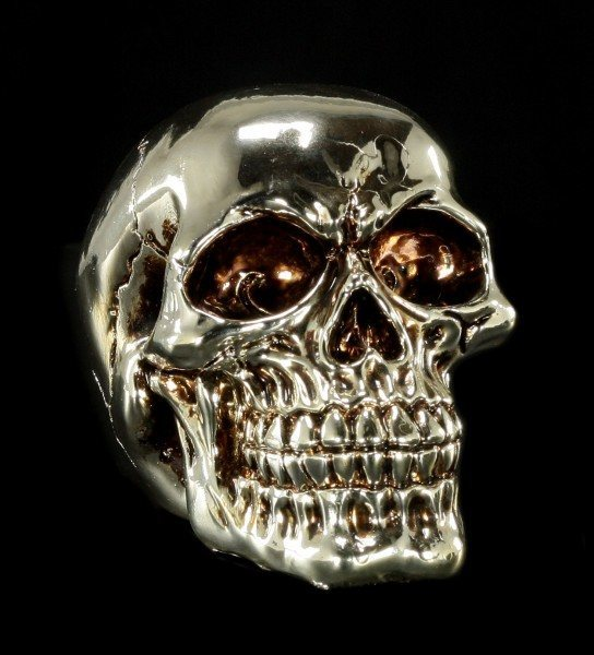 Skull - silver colored