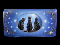 Purse with Cats - Wish Upon A Star - embossed