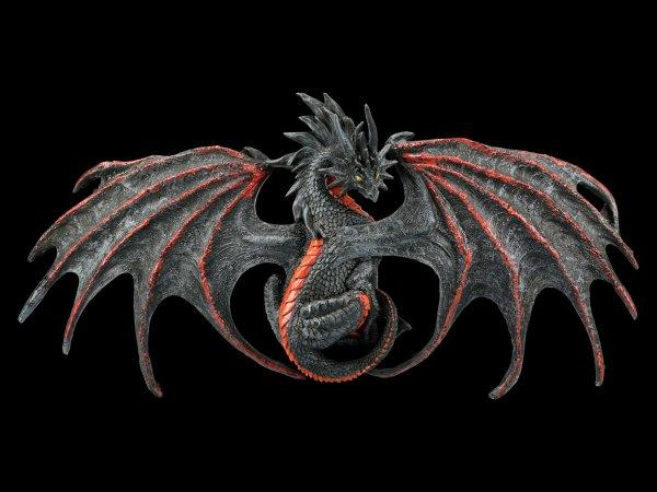 Drachen Wandrelief - Malice Dragon