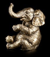 Elefanten Figur - Kleiner fröhlicher Elefant