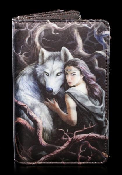 Geldbörse mit Wolf - Soul Bond