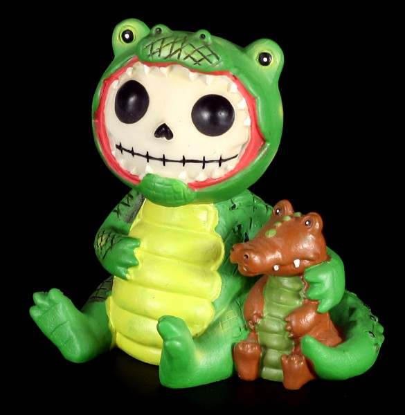 Furry Bones Figur - Krokodil Chompsy