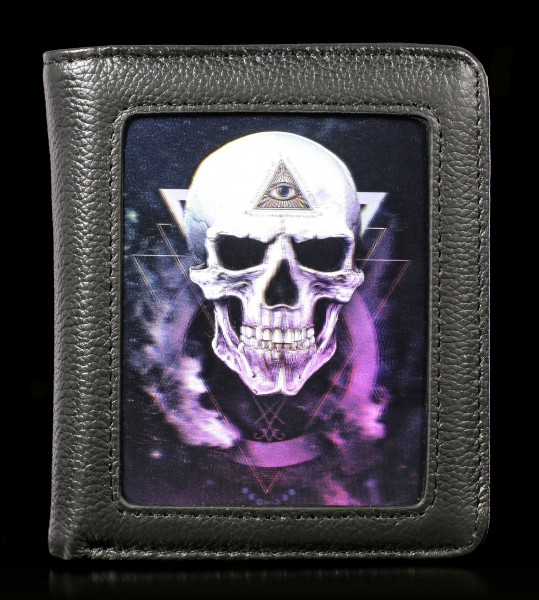 Wallet with 3D Skull - The Void