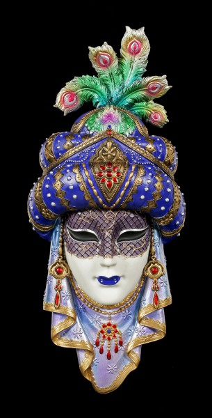 Colorful Venetian Mask - Arabian Nights