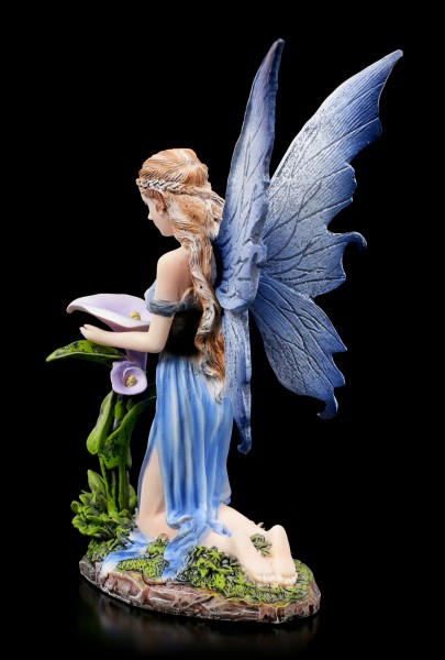 Elfen Figur - Bleu mit Blume