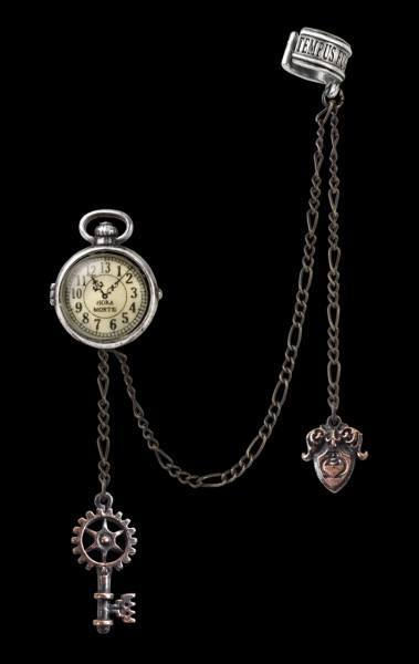 Uncle Alberts Timepiece - Alchemy Steampunk Earring