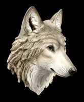 Wolf Head Wall Plaque - Mountain Spirit