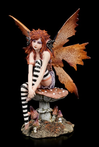 Fairy Figurine - Maine on Mushroom