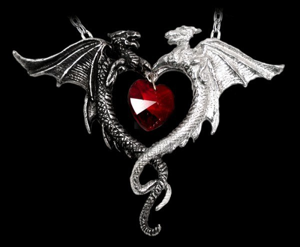 Coeur Sauvage - Alchemy Gothic Pendant