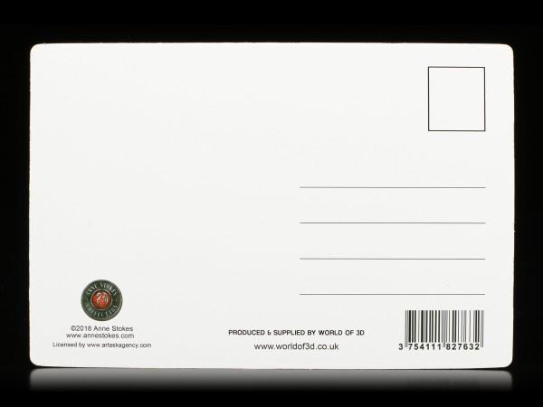 3D Postkarte mit Einhorn - Beyond Words