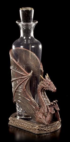 Drachen Flaschenhalter - Decanter Draconus