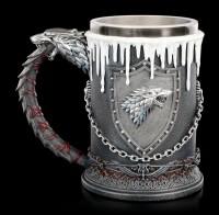 Game of Thrones Tankard - House Stark