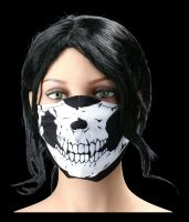 Classic Skull Reusable Face Covering