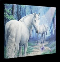 Small Canvas with Unicorn - The Journey Home