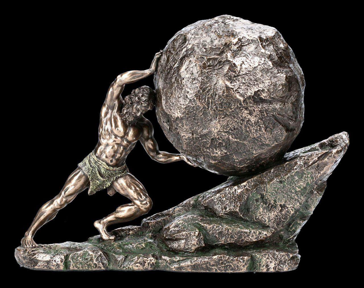 Sisyphus Figurine - King of Corinth