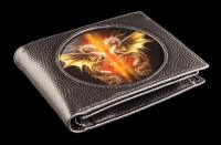 3D Wallet Black - Desert Dragons by Anne Stokes
