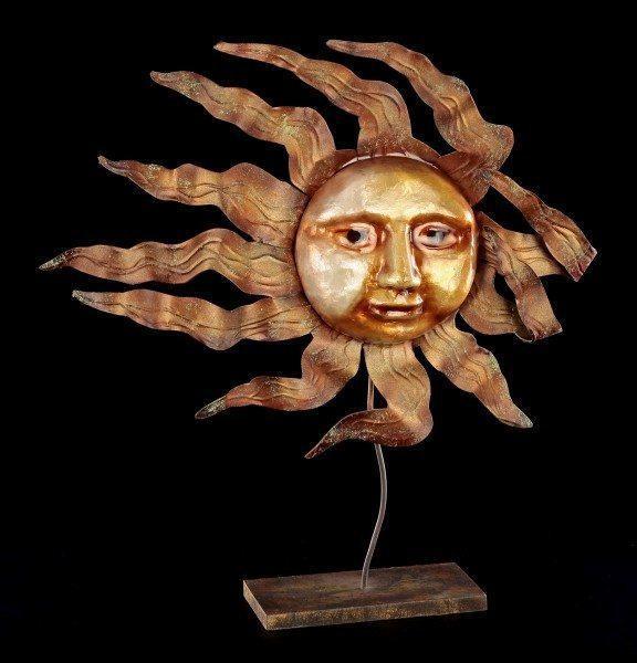 Metall Figur - Sonne