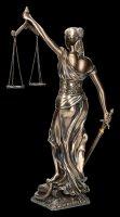 Justitia Statue mittel - Gartenfigur