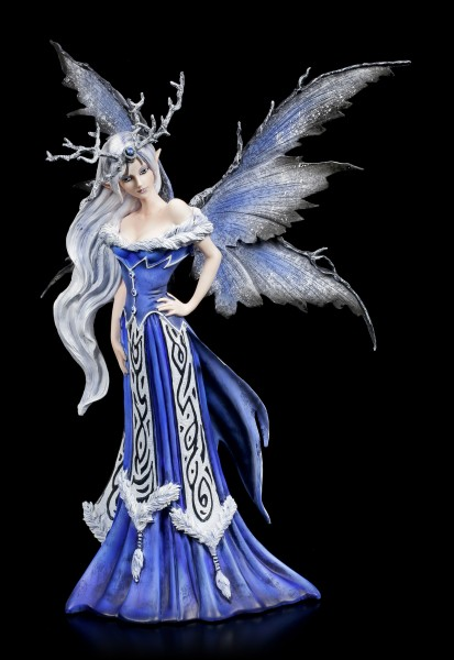 Fairy Figurine - Winter Queen Elaine