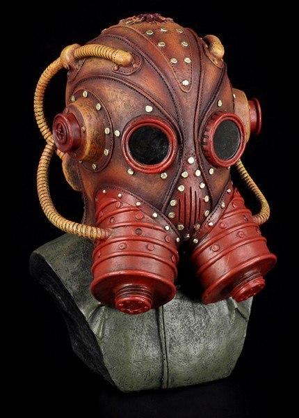 Steampunk Büste - Walrus - Bob Basset