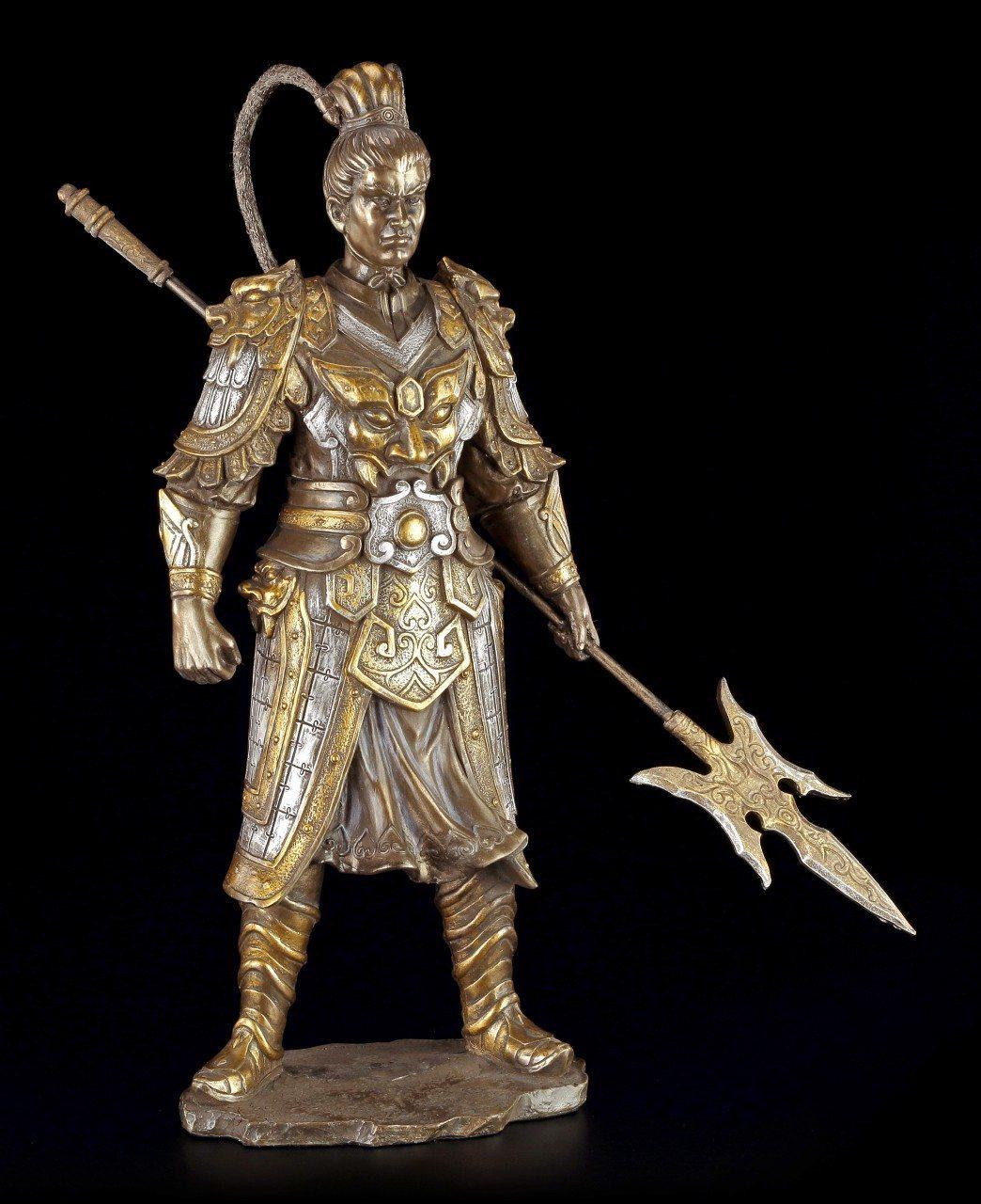 Chinese Warrior Figurine - Lu Bu