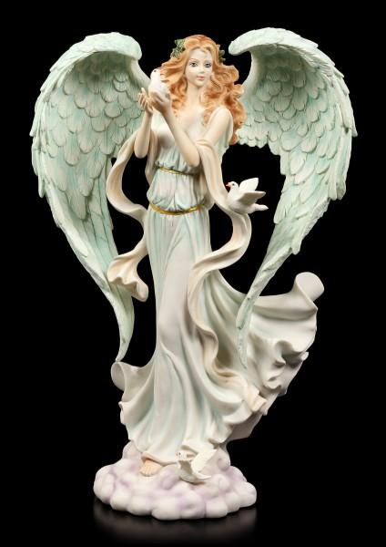 Angel Figurine - Verda with Dove of Peace