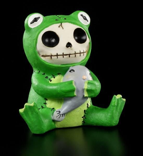 Furry Bones Figur - Froggie