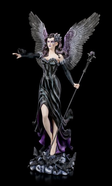 Large Dark Angel Figurine - Maeven