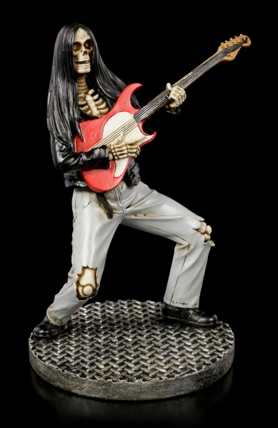 Skeleton Figurine - Rock Star Guitarist