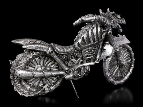 Dragon Bike - silver colored