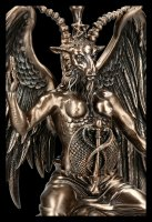Baphomet Statue - bronzed large