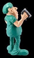 Funny Jobs Figurine - Surgeon with Tacker