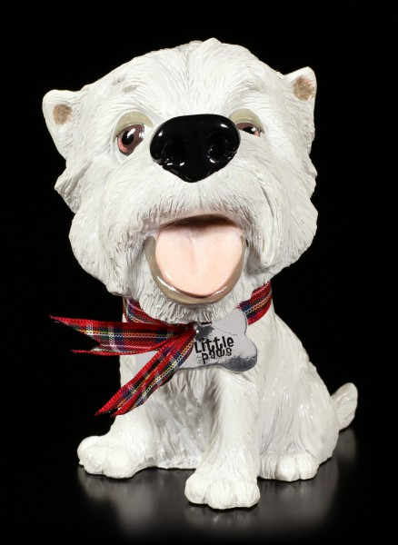 Dog Figurine - West Highland White Terrier Fergus