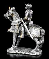 Small Knight Figurine on Horse