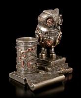 Stiftehalter - Steampunk Eule
