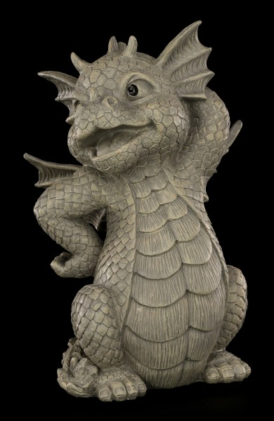 Garden Figurine - Dragon Pretty