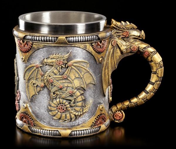 Steampunk Dragon Tankard