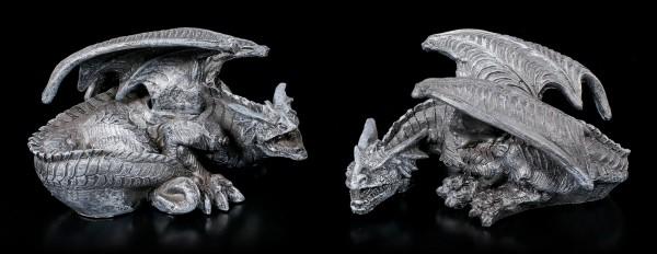 Dragon Figurines Set of 2 - Darko & Dune