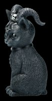 Occult Cat Figurine with Hornes - Pawzuph