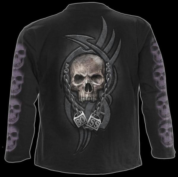 Langarmshirt Skelett - Boss Reaper