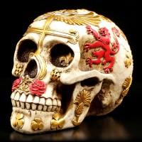 Skull with United Kingdom Emblem