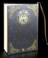The Wild One - High Class Hardback Journal with Wolf