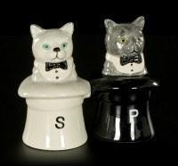 Salz und Pfeffer Streuer - Cats in Hats