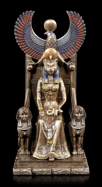 Sekhmet Figurine on Throne
