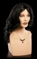 Alchemy Gothic Necklace - Vampire Loveheart
