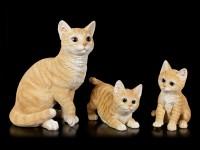 Cat Figurine - Orange Tabby