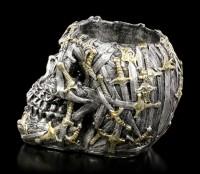 Totenkopf Teelichthalter - Cranial Blade