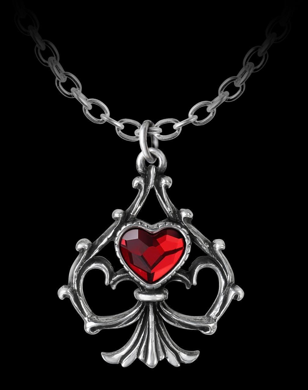 Alchemy Herz Halskette - Lucky In Love