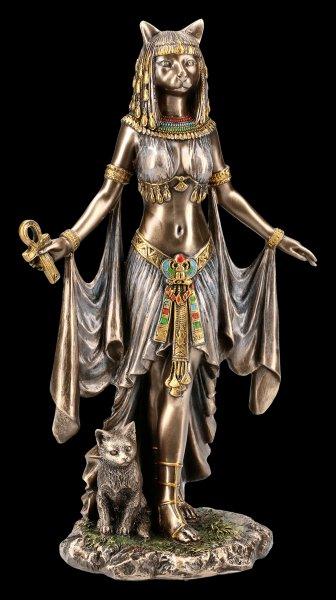Bastet Figur mit Ankh