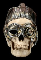 Steampunk Skull - Dreadlock Device large